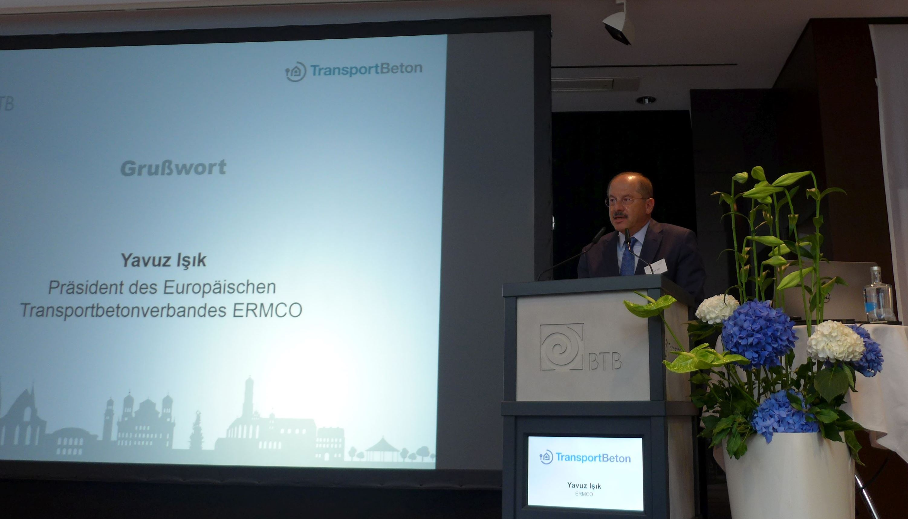 THE ERMCO PRESIDENT ATTENDS THE GERMAN CONCRETE DAY